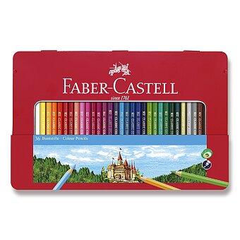 Obrázek produktu Pastelky Faber-Castell - 36 barev, plechová krabička