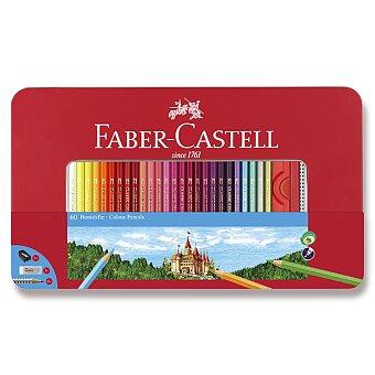 Obrázek produktu Pastelky Faber-Castell - 60 barev + příslušenství