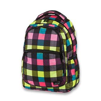 Obrázek produktu Školní batoh Walker Base Classic Neon Checks