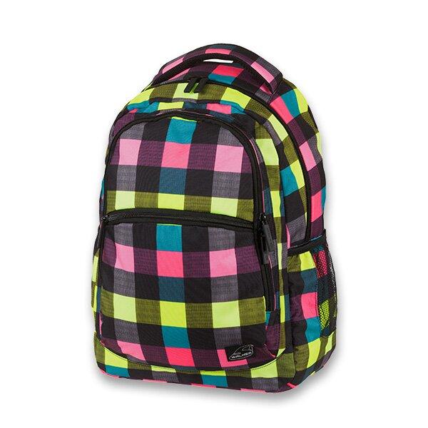 Školní batoh Walker Base Classic Neon Checks