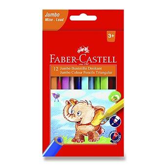 Obrázek produktu Pastelky Faber-Castell  Extra Jumbo - 12 barev