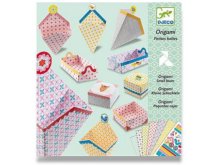 Obrázek produktu Origami skládačka Djeco - Krabičky
