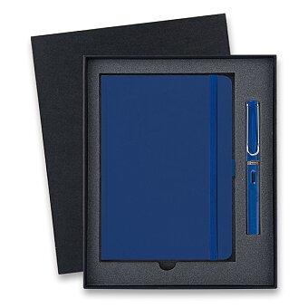 Obrázek produktu Lamy Safari Shiny Blue - plnicí pero, dárková sada se zápisníkem