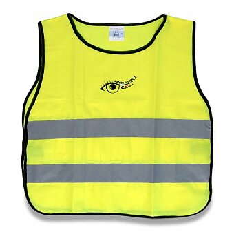 Obrázek produktu Výstražná vesta pro děti - žlutá