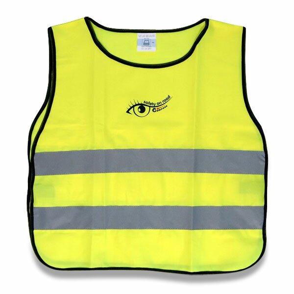 Výstražná vesta pro děti žlutá