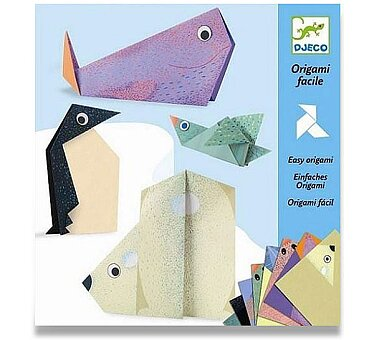 Obrázek produktu Origami skládačka Djeco - Polární zvířata