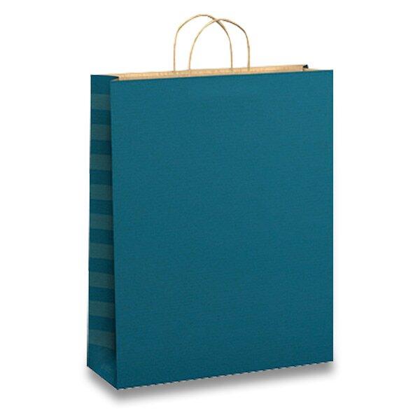 Dárková taška Kraft 320 x 120 x 420 mm, mix barev
