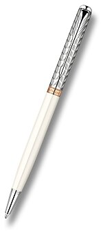Obrázek produktu Parker Sonnet Metal & Pearl - kuličková tužka Slim