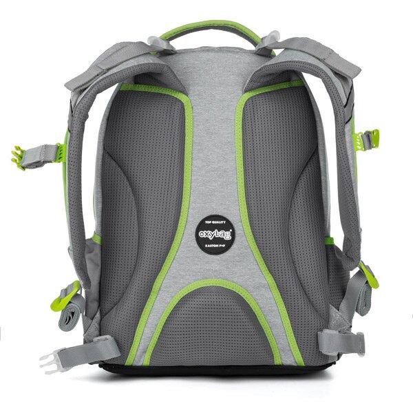 Školní batoh OXY Style Mini - pohled zezadu