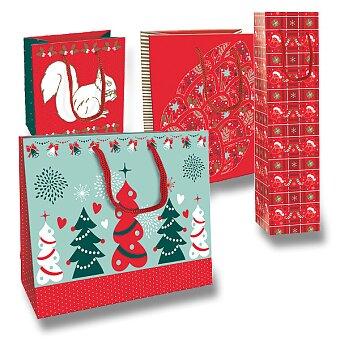 Obrázek produktu Dárková taška Christmas Traditional Nature - různé rozměry