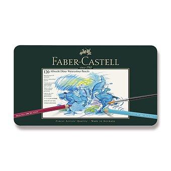 Obrázek produktu Akvarelové pastelky Faber-Castell Albrecht Dürer - plechová krabička, 120 barev