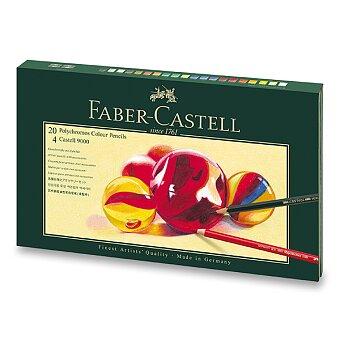Obrázek produktu Pastelky Faber-Castell Polychromos 210051 - 20 barev s příslušenstvím