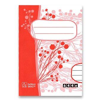 Obrázek produktu Školní sešit EKO 644 - A6, linkovaný, 40 listů