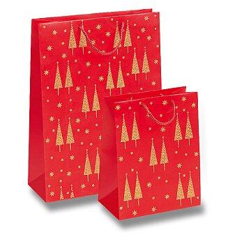 Obrázek produktu Dárková taška Polvere di Stelle - červená, různé rozměry