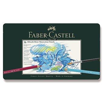 Obrázek produktu Akvarelové pastelky Faber-Castell Albrecht Dürer - plechová krabička, 36 barev