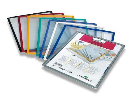 Obrázek produktu Prezentační panel Durable - A4, 1 ks, výběr barev