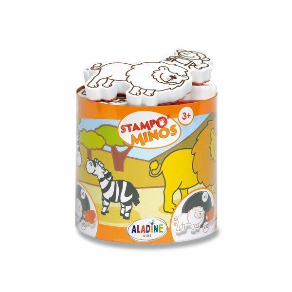 Razítka Aladine Stampo Minos - Safari 10 razítek