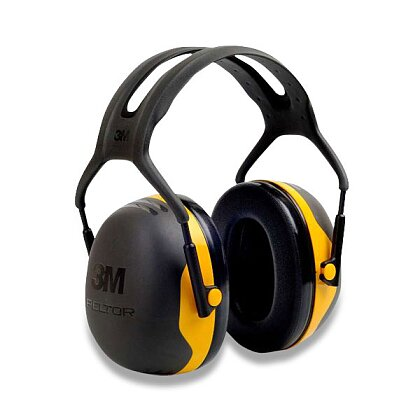 Obrázek produktu 3M Peltor X2A - mušlové chrániče sluchu - žluté, 31 dB