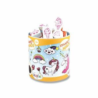 Obrázek produktu Razítka Aladine Stampo Minos - Jednorožci - 18 razítek