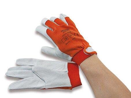 Obrázek produktu Pracovní rukavice Hobby kůže/bavlna - výběr velikostí