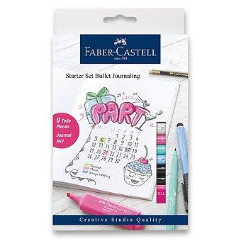 Obrázek produktu Popisovače Faber- Castell Starter set Bullet Journaling 267125 - 9 ks