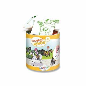 Obrázek produktu Razítka Aladine Stampo Minos - Koně - 10 razítek