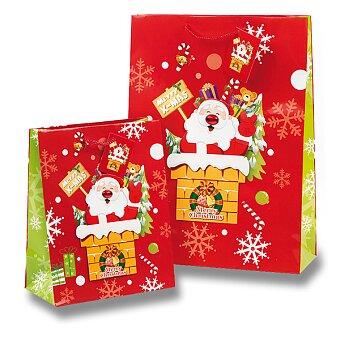 Obrázek produktu Dárková taška Santa Claus - různé rozměry