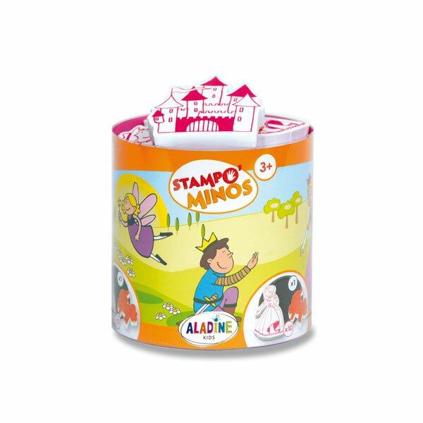 Razítka Aladine Stampo Minos - Pohádkový svět 10 razítek