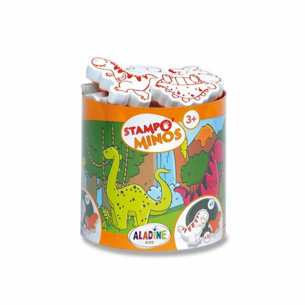 Razítka Aladine Stampo Minos - Dinosauři 10 razítek