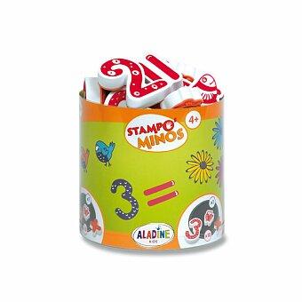 Obrázek produktu Razítka Aladine Stampo Minos - Číslice - 10 razítek