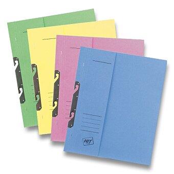 Obrázek produktu Rychlovazač závěsný papírový půlený HIT Office - A4, výběr barev