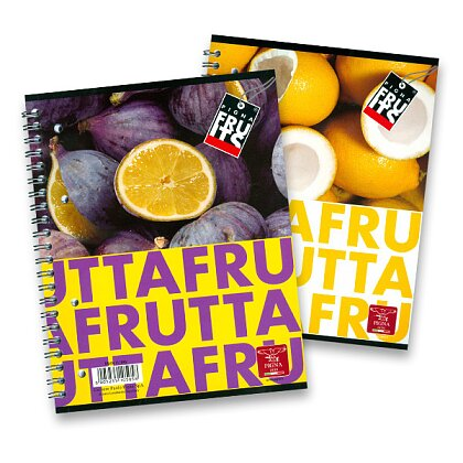 Product image Pigna Fruits - spiral notebook