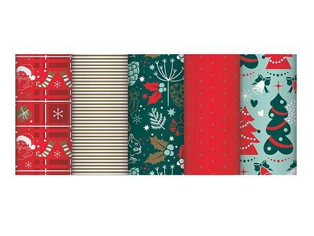 Obrázek produktu Balicí papír Traditional Nature - 2 x 0,7 m, mix motivů