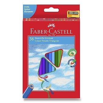 Obrázek produktu Pastelky Faber-Castell trojhranné - 36 barev + ořezávátko