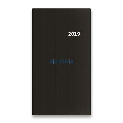 Obrázek produktu Helma Torino 2019 - kapesní diář čtrnáctidenní - černý
