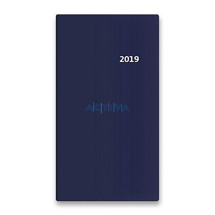 Obrázek produktu Helma Torino 2019 - kapesní diář 14idenní - modrý