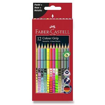 Obrázek produktu Pastelky Faber-Castell Grip 2001 - speciální edice, 12 barev