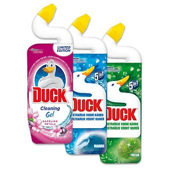 Obrázek produktu Čistící přípravek na toaletu Toilet Duck 5 v 1 - 750 ml, výběr vůní