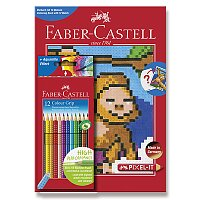 Pastelky Faber-Castell Grip 2001 Pixel-it