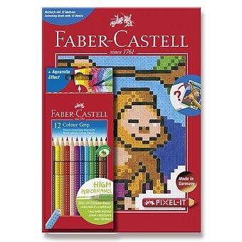 Obrázek produktu Pastelky Faber-Castell Grip 2001 Pixel-it - 12 barev