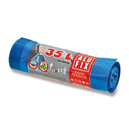 Obrázek produktu Alufix - zatahovací pytle na odpadky - 35 l, 15 ks, 20 mikronů