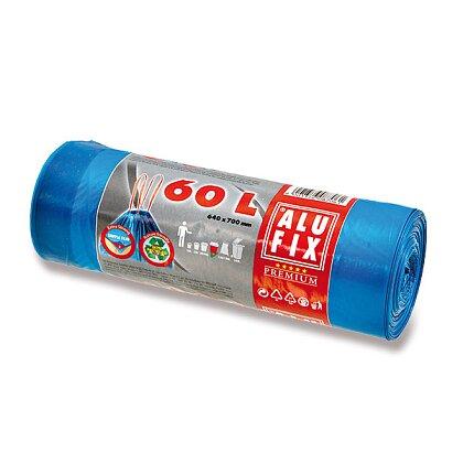 Obrázek produktu Alufix - zatahovací pytle na odpadky - 60 l, 15 ks, 20 mikronů
