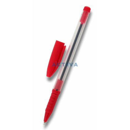 Obrázek produktu Office 517 - jednorázová kuličková tužka - červená