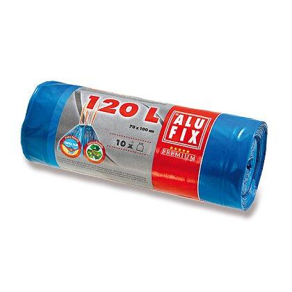 Obrázek produktu Alufix - zatahovací pytle na odpadky - 120 l, 10 ks, 23 mikronů