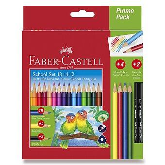 Obrázek produktu Pastelky Faber-Castell trojhranné - 18 barev