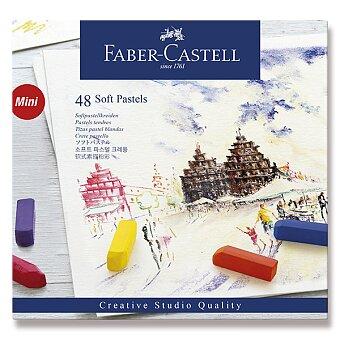 Obrázek produktu Pastelové křídy Faber-Castell Mini - 48 barev