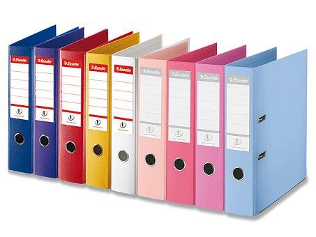 Obrázek produktu Plastový pákový pořadač Esselte - plast, A4, 75 mm, výběr barev