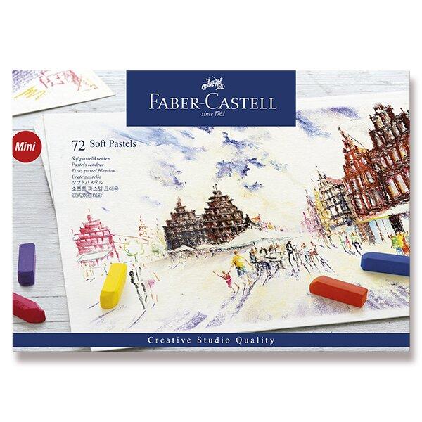 Pastelové křídy Faber-Castell Mini 72 barev