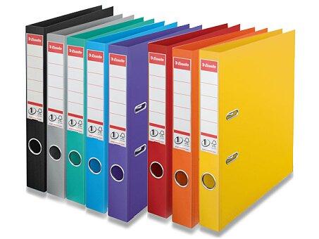 Obrázek produktu Plastový pákový pořadač Esselte - plast, A4, 50 mm, výběr barev