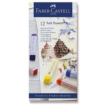 Obrázek produktu Pastelové křídy Faber-Castell - 12 barev